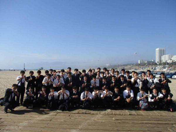 アメリカ修学旅行第3班報告1