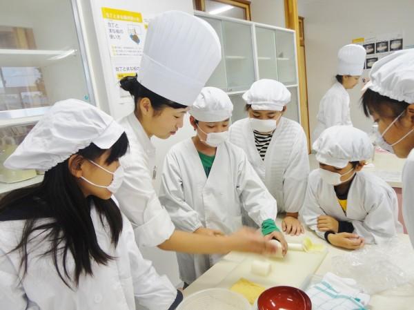 小学生と食育交流