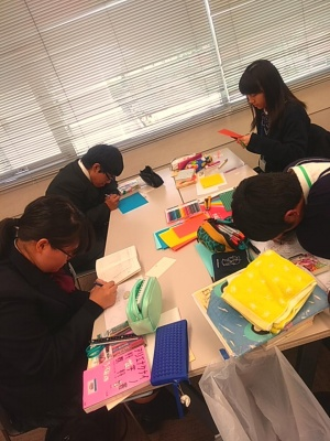 埼玉県東部北地区図書委員研修交流会に参加しました