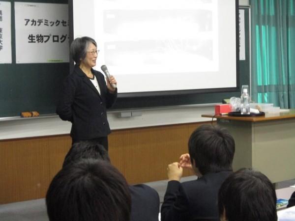 2年αコース・アカデミックセミナー ~東京大学 窪川特任教授による特別講義~