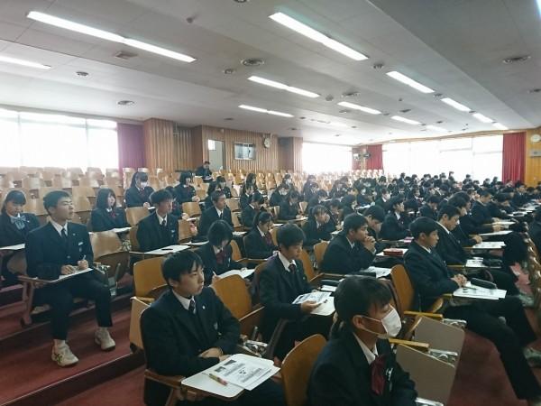 小論文ガイダンス【普通科総合進学・食育実践科】2年生