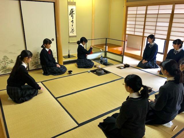 茶道部 合同練習会を行いました