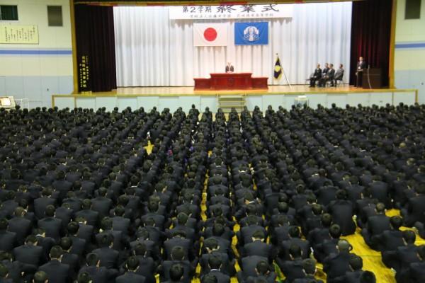 平成30年度 第2学期終業式