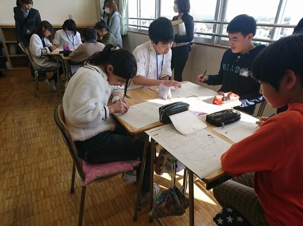 小学生と食育交流 ~パート2~