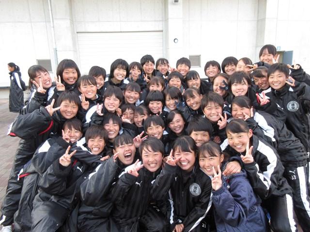 女子サッカー部 全国大会ベスト8