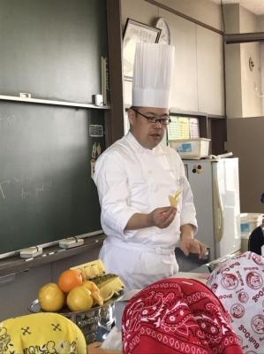 食育実践科 越谷光陽中学校 出張授業