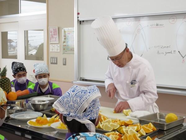 食育実践科1年 加須昭和中学校 出張授業