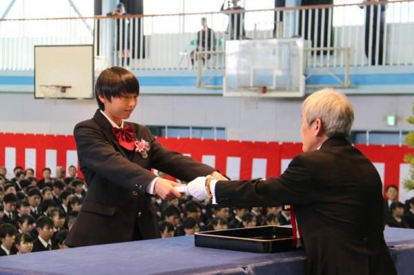 第35回卒業証書授与式