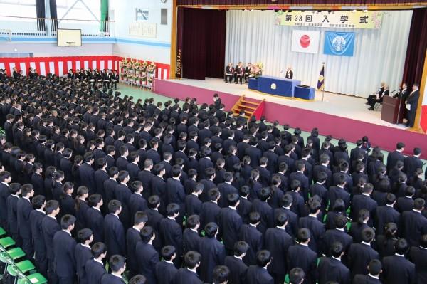第38回入学式挙行