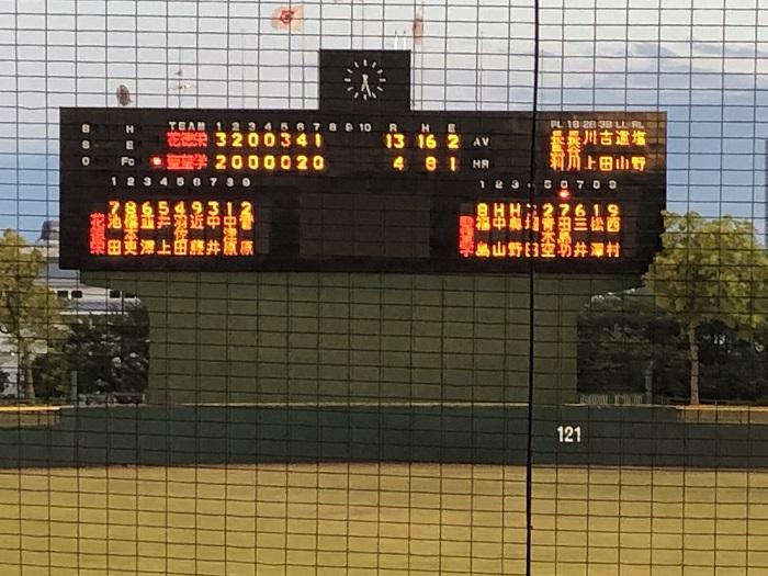 春季高校野球県大会3回戦 コールド勝ちで8強入り