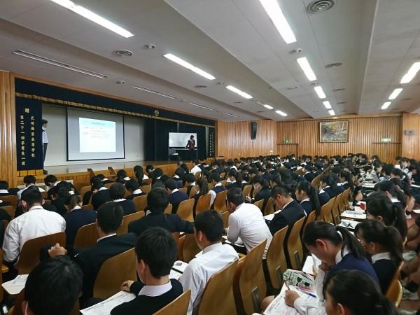 3年小論文ガイダンス(普通科総合進学・食育実践科)