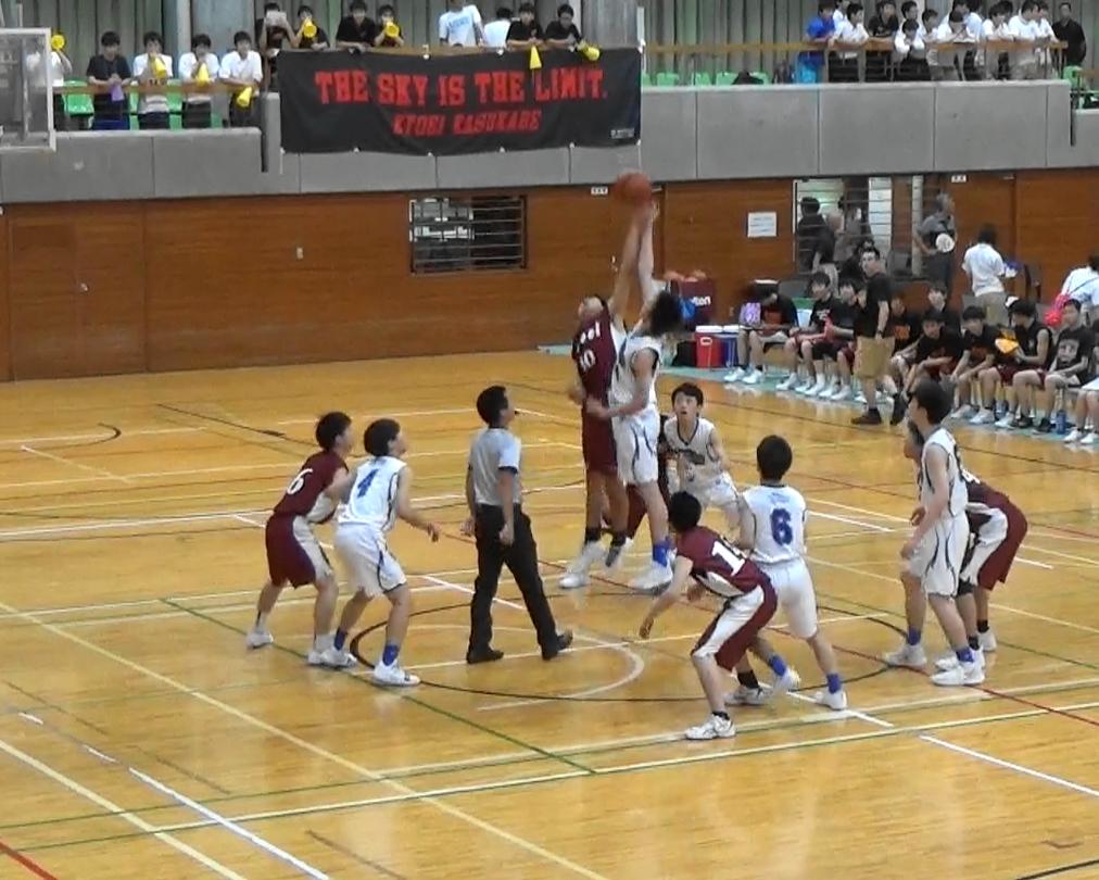 インターハイ予選結果報告(男子バスケットボール部)