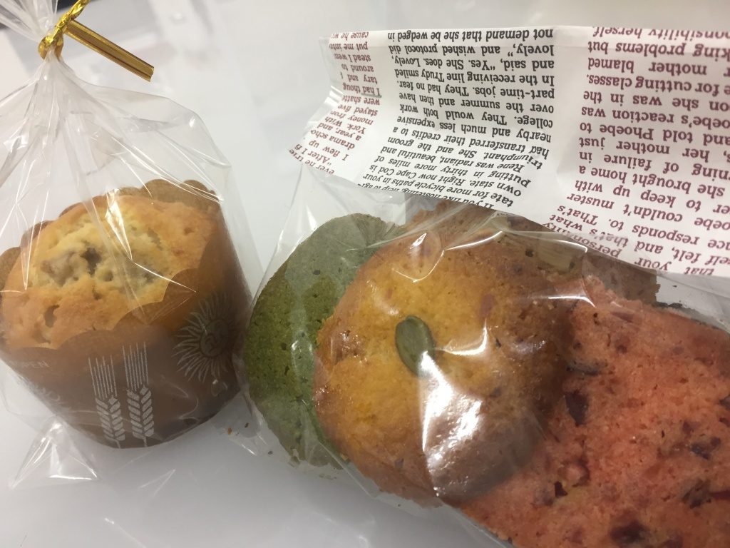 文化祭でクッキーを販売