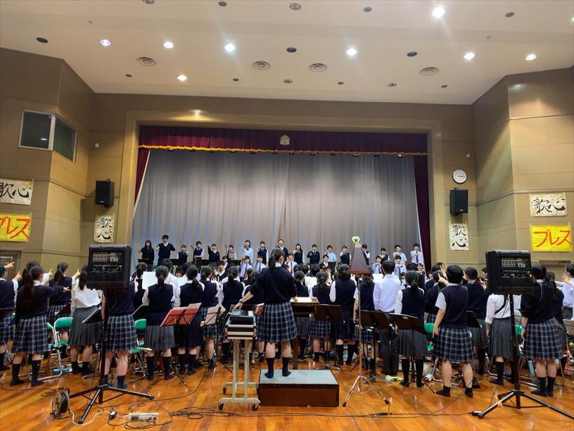 桐蔭学園高校合同練習