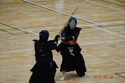 剣道部インターハイ予選個人戦結果