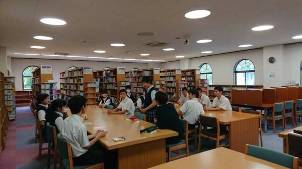 図書委員会主催 第1回読書会