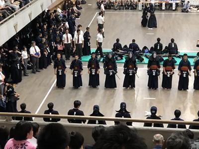 第33回日本体育大学剣友会 全国高校剣道大会 山内旗・倉澤杯争奪 結果