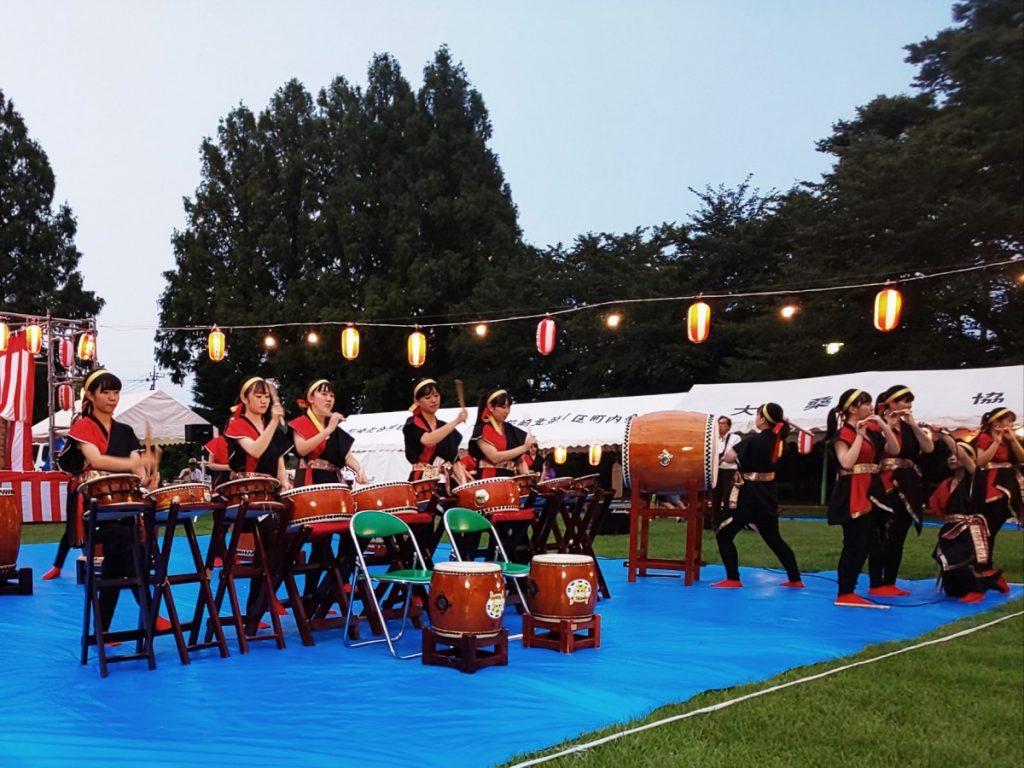 花崎北公園納涼祭