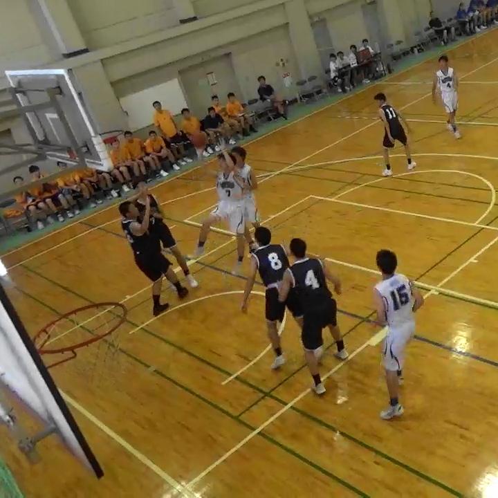 男子バスケットボール部夏季東部大会試合結果