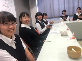 茶道部 日々の活動をご紹介します(9月)