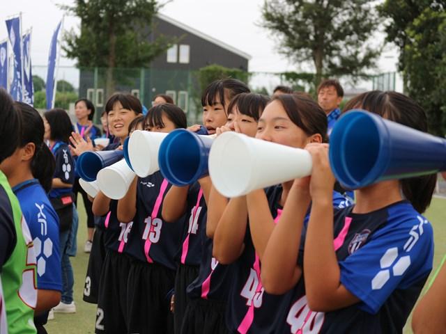 女子サッカー部 選手権予選