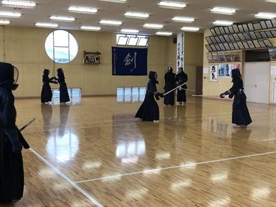 新人戦に向けて(剣道部)