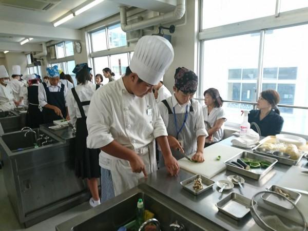 第2回食育実践科体験