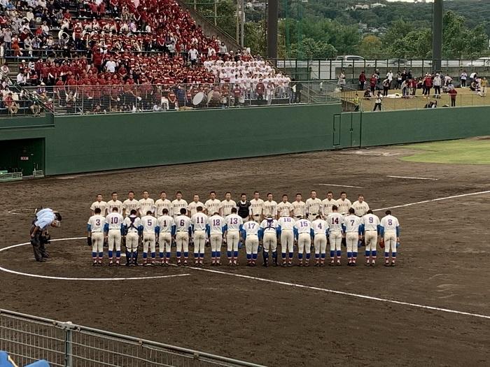 秋季関東高校野球1回戦 打線爆発11対1でコールド勝ち