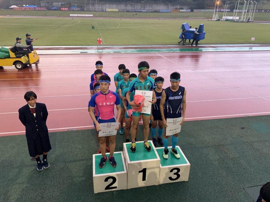 【陸上競技・関東選抜新人大会】男子400mRで初表彰台の第3位入賞