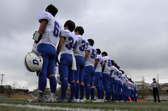アメリカンフットボール部:秋季公式戦結果