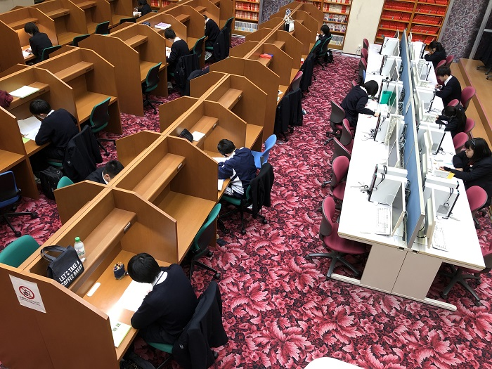 冬休みの大学入試対策センター ~大学入試センター試験まで残り24日~