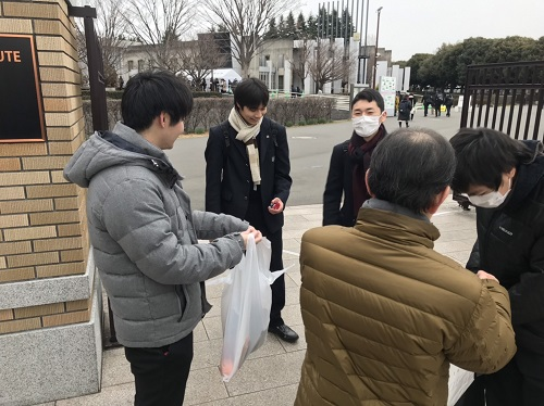 令和2年度大学入試センター試験初日スタート、本校生徒は芝浦工業大学大宮キャンパスで受験