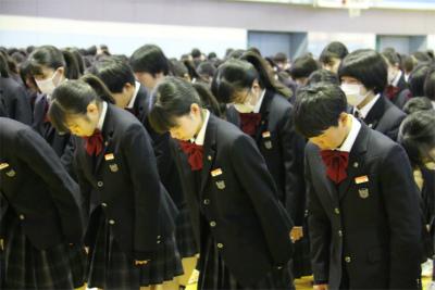 令和元年度 第3学期始業式