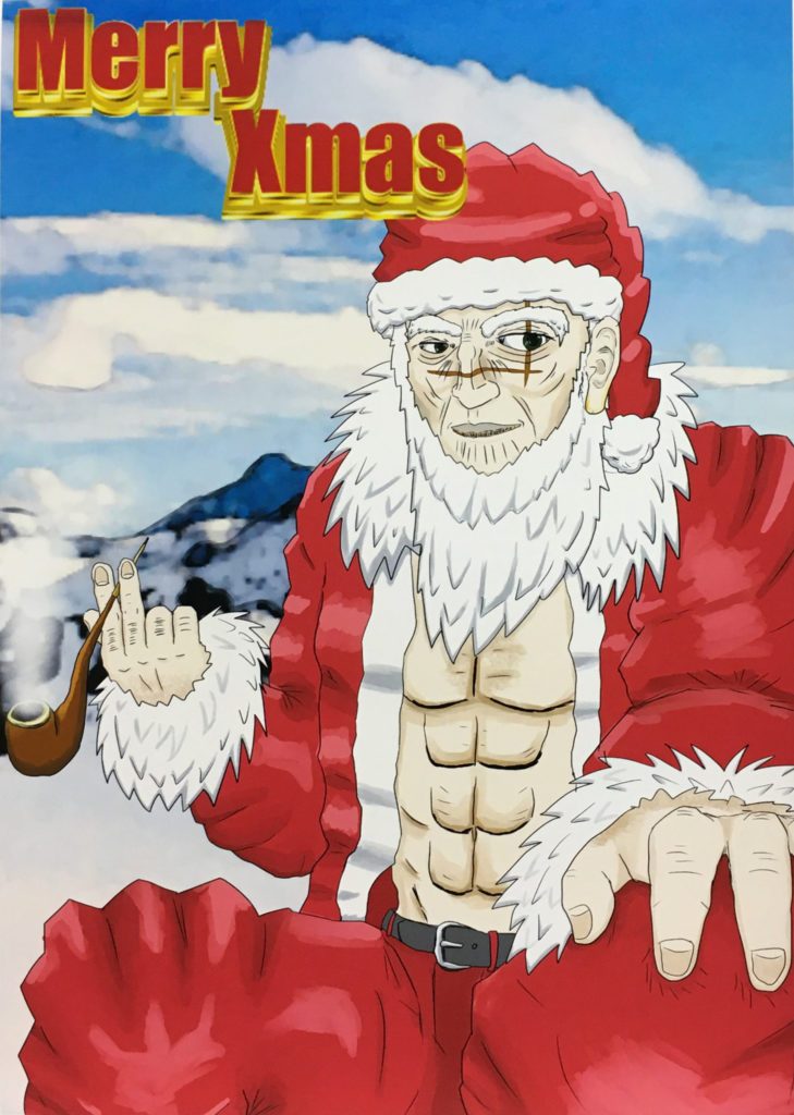 漫画研究部 クリスマス会と新年の挨拶