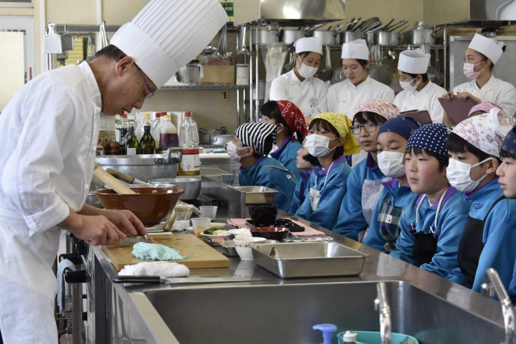 加須東中学校との交流授業