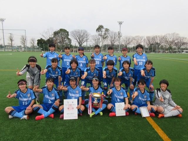 女子サッカー部 新人戦4連覇☆☆☆☆