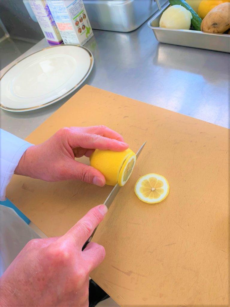 レモンの飾り切り 第1弾