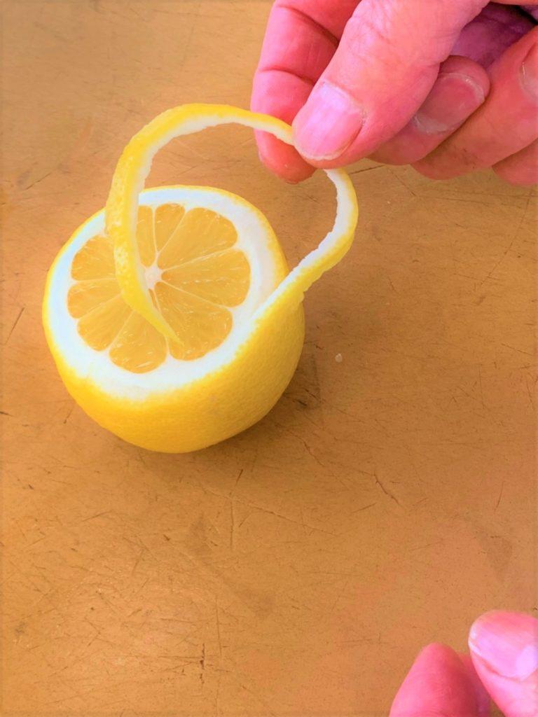 レモンの飾り切り 第2弾