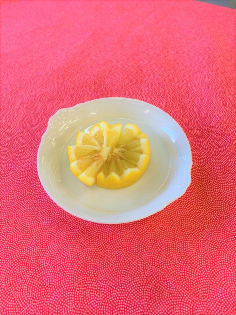 レモンの飾り切り 第3弾