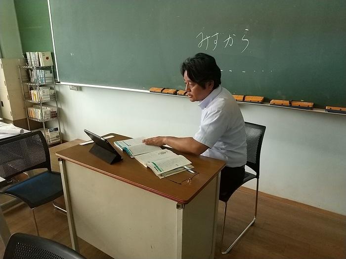 オンライン授業3 ~全クラス全科目でオンライン授業実施~