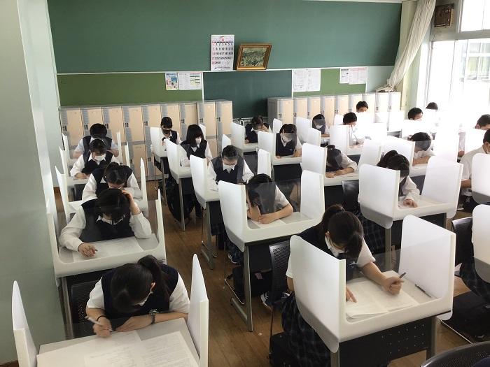 第1学期・期末考査開始 ~1年生は高校初の定期考査~