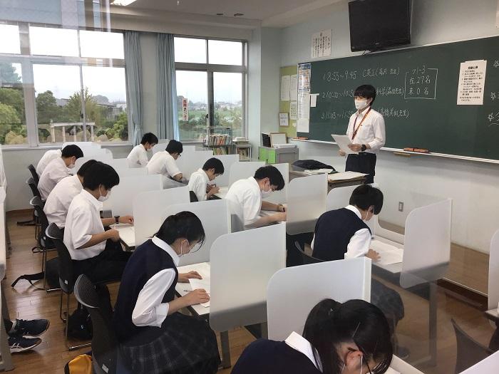 第1学期・期末考査終了 ~来週から平常授業+放課後演習授業開始~