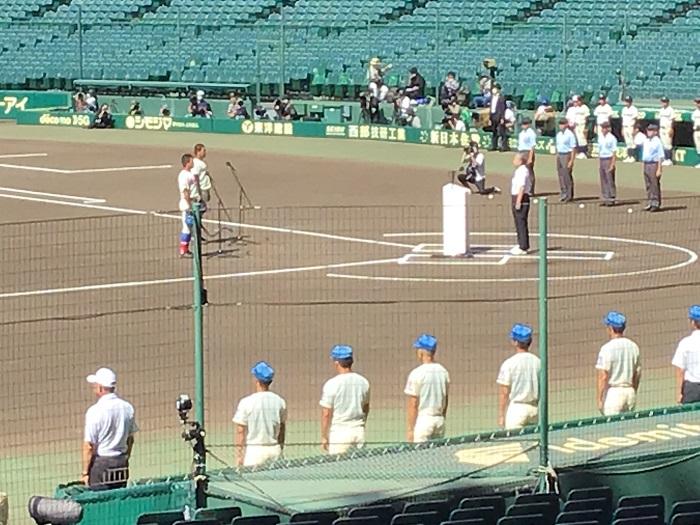 2020年甲子園高校野球交流試合 ~井上朋也主将が選手宣誓・開幕試合を勝利で飾る~