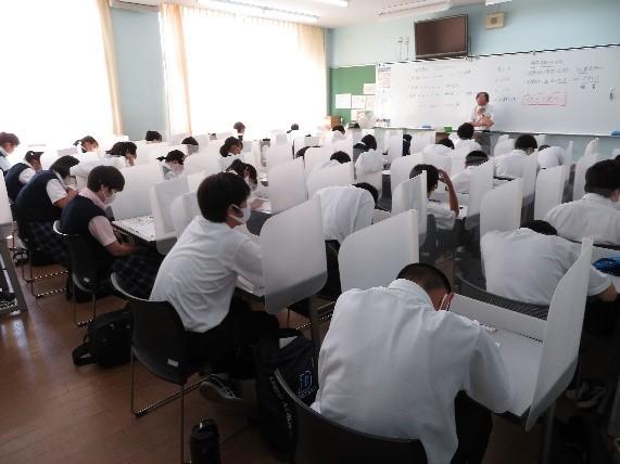 1・2年生対象 ベネッセ総合学力テスト・スタディサポート実施
