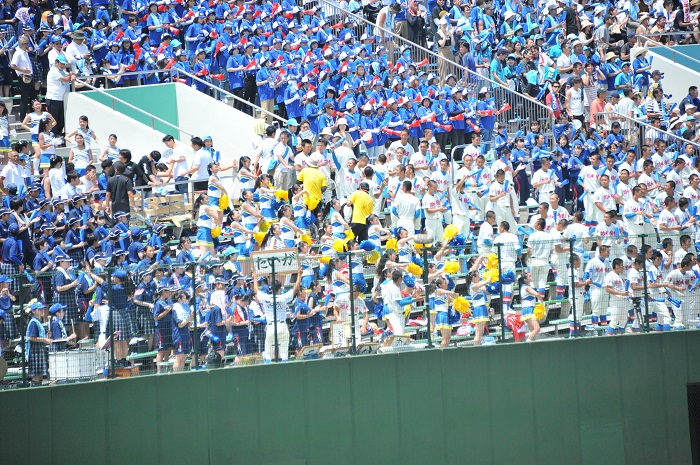 夏季埼玉県高等学校野球大会4回戦 コールド勝ちで東部地区4強進出