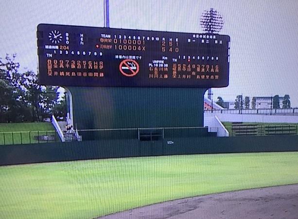 夏季埼玉県高等学校野球大会3回戦5対2で接戦を制し勝利、東部地区4回戦へ