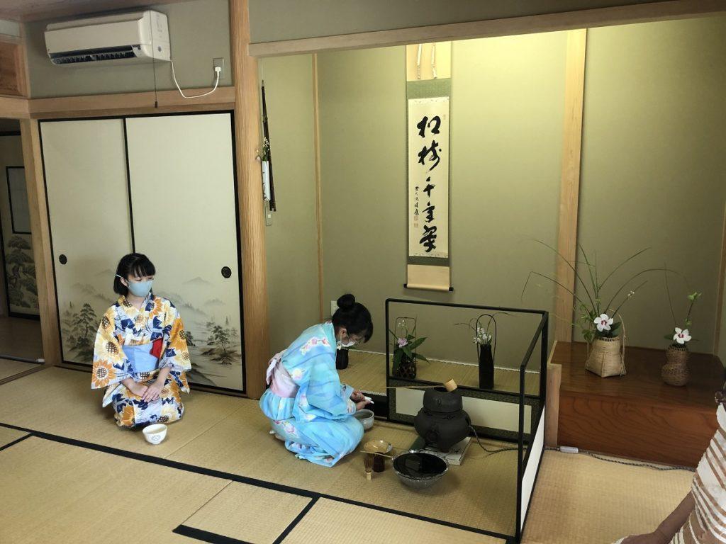 茶道部の活動をご紹介(8月集中稽古)