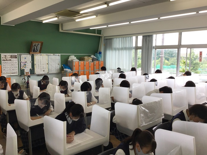 第2学期中間考査開始