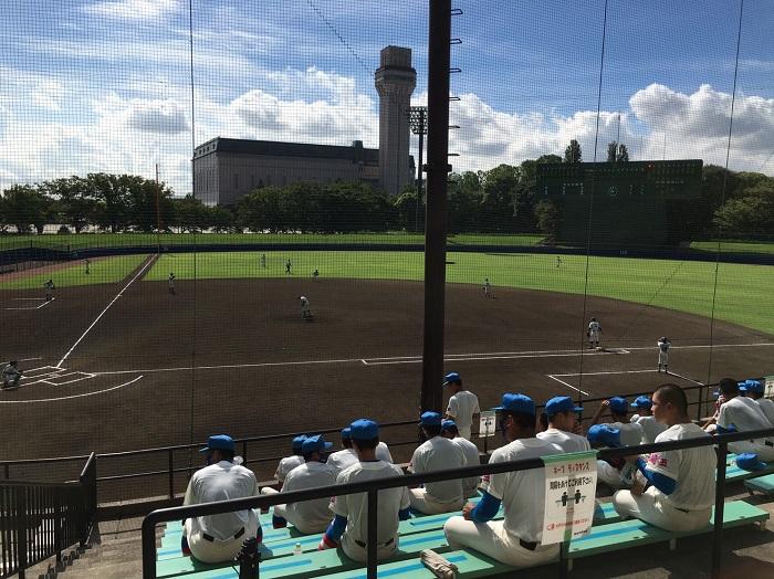秋季高校野球東部地区代表決定戦