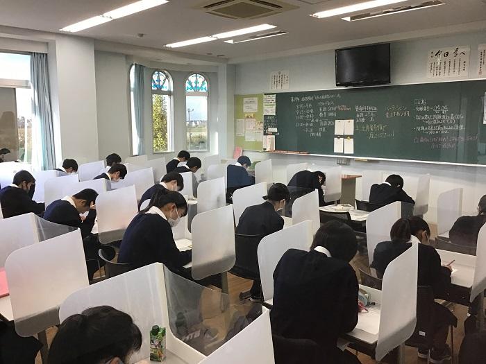 徳栄生の一日② ~第0時限授業(朝自習の様子)~